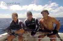marlin fishing by David Whitley and sons Dan & Joe