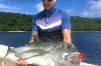 Fishes in Vanuatu are the biggest I've ever seen