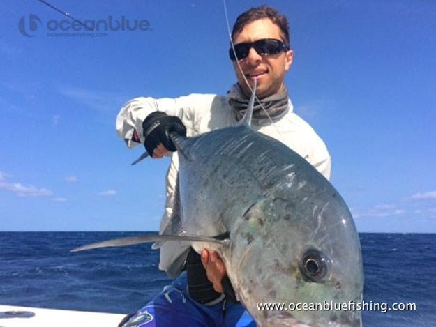 Huge GT Fish