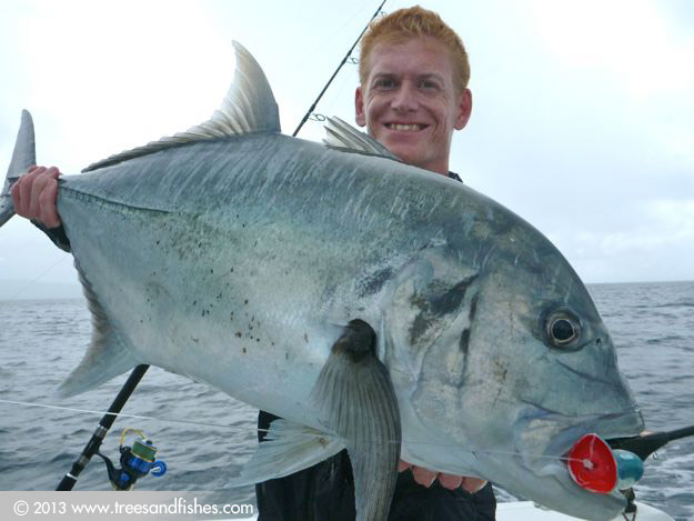 Fishing for GT in Vanuatu