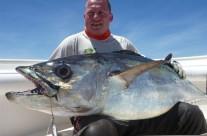 huge dog tooth tuna