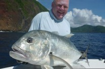 fishing giant trevally