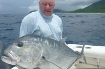 giant trevally fishing