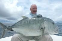 giant trevally fishing in vanuatu