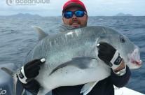 Sean Tieck crew GT fishing