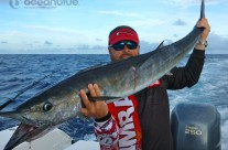 Sean Tieck crew wahoo fishing