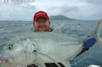 Sean Tieck crew actual GT fishing
