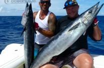 Sean Tieck crew wahoo fishes