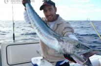Sean Tieck crew big wahoo fishing