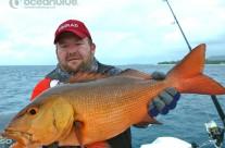 Sean Tieck crew red bass fishing