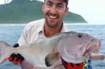 Sean Tieck crew coral trout fishing