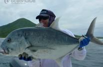 GT fishing by Sean Tieck's crew