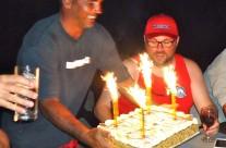 Sean Tieck celebrates birthday in Vanuatu