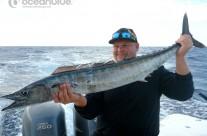 wahoo fishing by Sean Tieck's crew