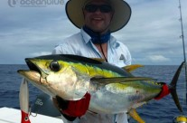 Anthony Waring's group - yellowfin tuna fishing