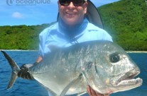 Anthony Waring's group - huge GT fishing