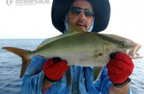 Anthony Waring's group - coral trout fishing