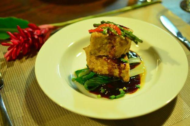 Pan Seared Teriyaki Wahoo Dish and Recipe