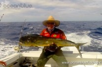 David Whitley's mahi mahi fishing